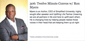 Ron Simplified Myers - Author