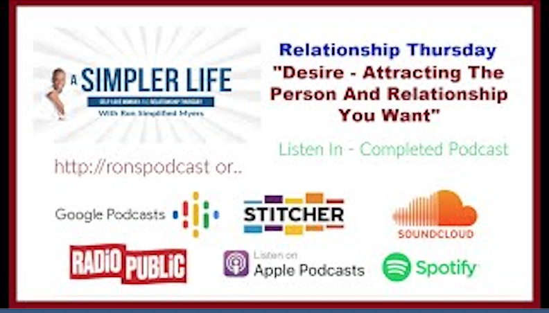 Desire Attracting The Person and Relationship You Want